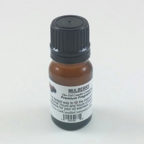 The Gel Candle Company Mulberry Fragrance oil - 30 Hours for Warmers and Diffusers