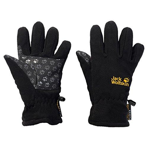 Jack Wolfskin stormlock Glove Kids, Black, 116 (5-6 years Old)))))