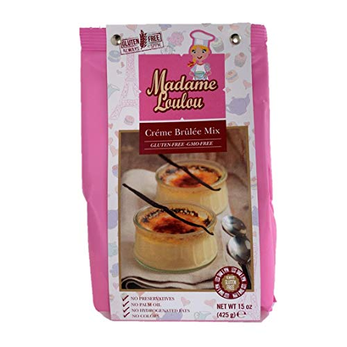 Madame Loulou Creme Brulee Mix 20+ servings 15 oz (15oz) ()