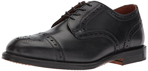 Allen Edmonds Mens Whitney Cap Toe With Perfing Detail Oxford Black Calf 7jT2RGexAm