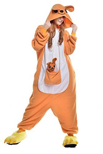 Newcosplay Unisex's Cartoon Clothing Animals Cosplay Costumes (S, Kangaroo)]()
