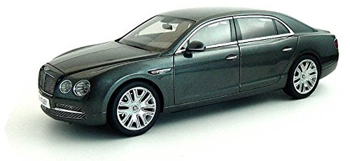 (Bentley Flying Spur W12 in Granite Diecast Model Car by Kyosho in 1:18 Scale)