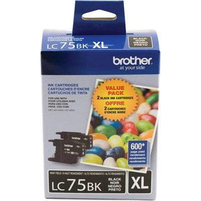 brother toner lc75bk - 8