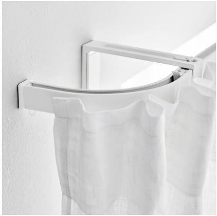 Amazon.com: Ikea 4 packs Corner piece, single track, white: Home