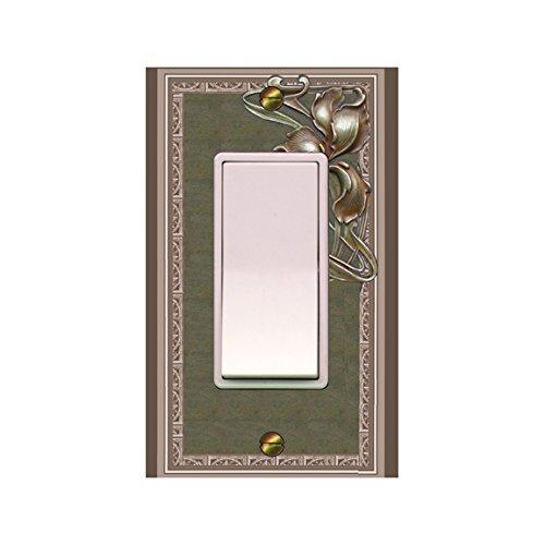 Nouveau Iris (Art Nouveau Switch plate Iris Book Cover (0151x-k1) mrs butler ROCKER)