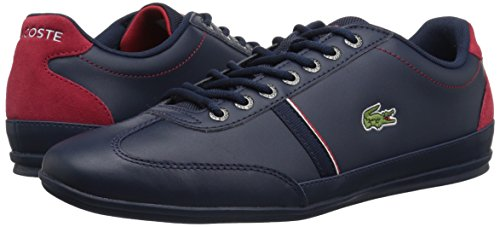 Lacoste Men's Misano Sport 118 1 Sneaker, Nvy/Red, 12 M US by Lacoste (Image #6)