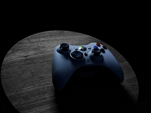 Home Comforts Acrylic Face Mounted Prints Fun Xbox Controller Entertainment Video Games Print 14 x 11. Worry Free Wall Installation - Shadow Mount is Included. (Quick Shadow Mount)