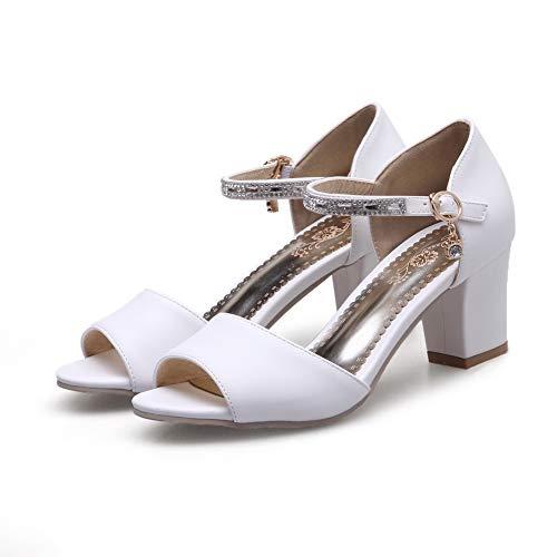 35 Donna AN DIU01261 Ballerine White Bianco XSwpEqwC