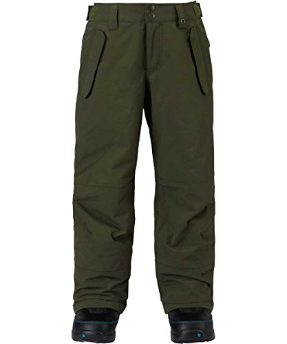 Burton Kids Boys Parkway Snow Pants Forest Night Green Size Medium by Burton