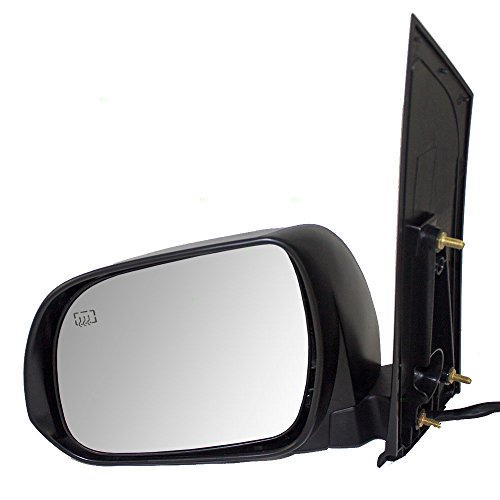 Drivers Power Side View Mirror Heated Replacement for Toyota Van 87940-08094-C0 (Van Power Mirror Heated)