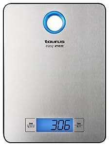 Taurus Easy Inox - Báscula de cocina