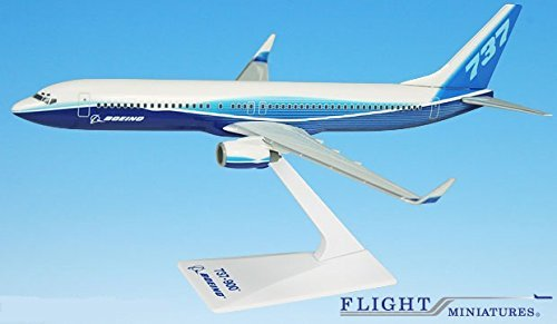 Boeing Demo (04-Cur) 737-900w Airplane Miniature Model Plastic Snap Fit 1:200 Part# ABO-73790H-005 (200 Snap Fit Model)