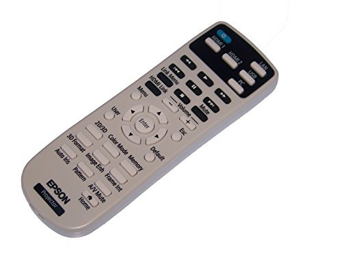 OEM Epson Projector Remote Control Supplied With Home Cinema 2150, Home Cinema 2100