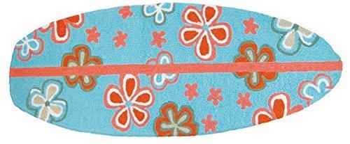"""Surfboard - Boho Floral 21"""" x 54"""" Jellybean Rug"""