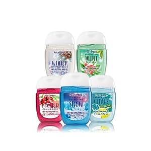 Bath and Body Works Winter's Magic Pocketbac Hand Sanitizers. 1 Oz each.