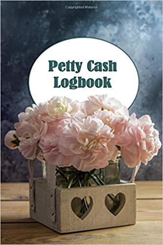 petty cash logbook flower box cash recording ledger for tracking