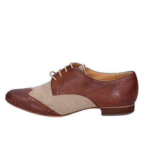 Femme Toile Chiarini Élégantes Beige Bologna Chaussures wpItPxI7q