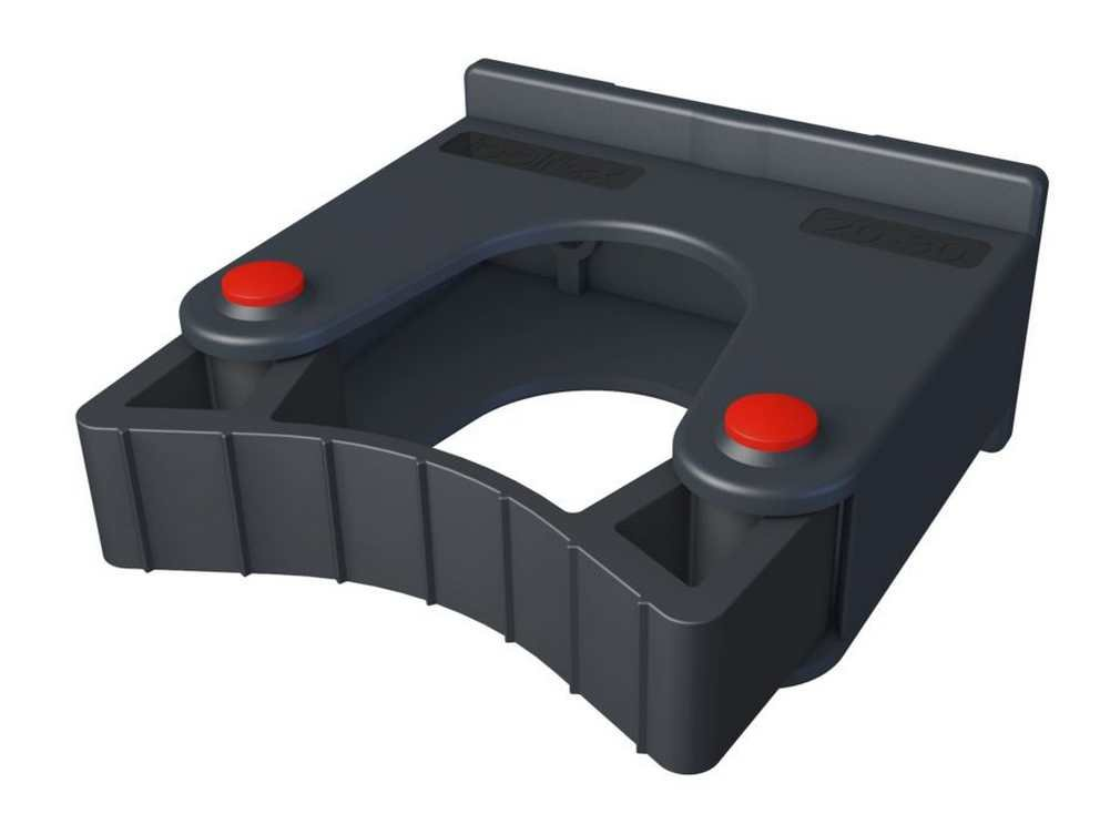 Toolflex Medium Tool Holder 20-30mm 2-Pack, Screws into Wall or Rail 473-512-1