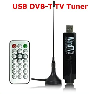 RECEPTOR USB WandTV ANTENA TV TUNER DVB-T EN TU ORDENADOR GRATIS CON MANDO A DISTANCIA