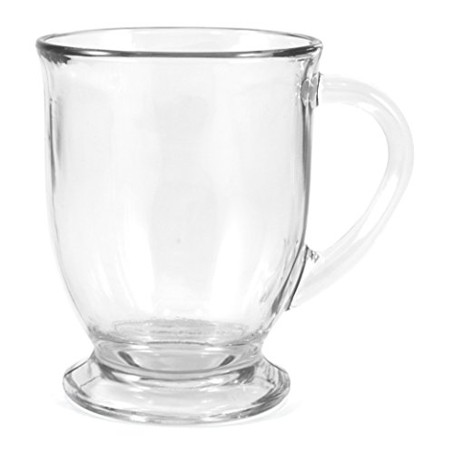 Green Glass Mug Coffee - Anchor Hocking Cafe Coffee Mug