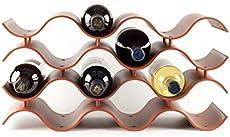Birando Wave Wine Rack (12Bottle Terra Cotta)  sc 1 st  Wine Racks & Review of Terra Cotta Wine Racks | Comparing Terra Cotta Wine Racks