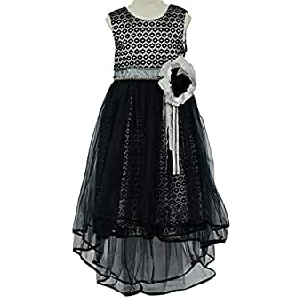 Lindissima Gown For Girls - 9-10 Years, Navy Blue