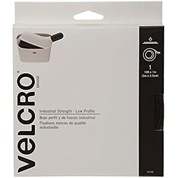 """VELCRO Brand - Industrial Strength Low Profile - 10' x 1"""" Tape - White"""