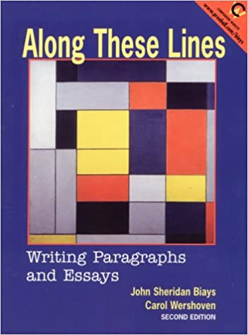 Amazon.com: Along These Lines: Writing Paragraphs and Essays (2nd ...