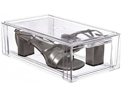 Crystal Clear Stackable Storage Drawer Small  sc 1 st  Amazon.com & Amazon.com: Crystal Clear Stackable Storage Drawer Small: Home u0026 Kitchen