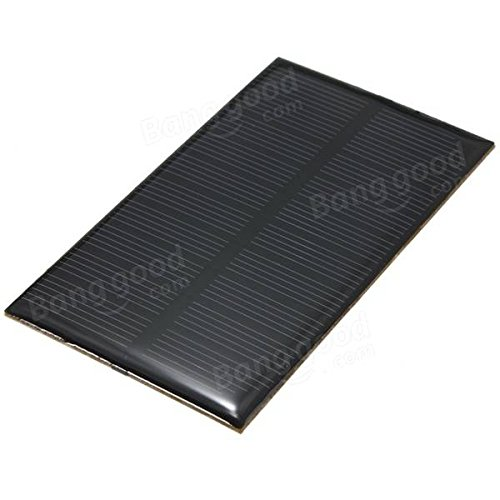Mini Solar Panel - Solar Photovoltaic Panel - 5V 1W Monocrystalline 107MM x 61MM 200MA Mini Solar Panel Photovoltaic Panel - #02 ( Monocrystalline Solar Panel )