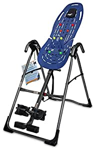 Teeter EP-560 Ltd Inversion Table with Back Pain Relief Kit, Blue