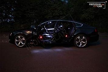 Innenraumbeleuchtung SET f/ür A4 B8 Limousine Pure-White