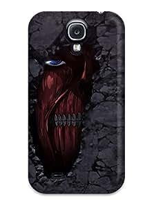New Attack On Titan Tpu Case Cover, Anti-scratch ZippyDoritEduard Phone Case For Galaxy S4