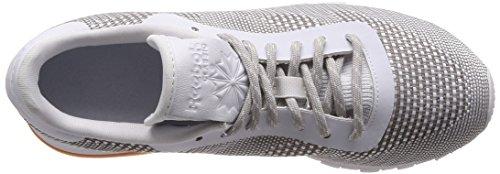 White da Grey Classic Ginnastica Bianco Basse Uomo Skull gum Flexweave Scarpe Reebok Black P8tdqFxF