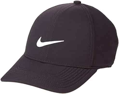 b07cda3fa5e13 NIKE AeroBill Legacy 91 Performance Statement Golf Cap 2018 Black  Anthracite Anthracite White