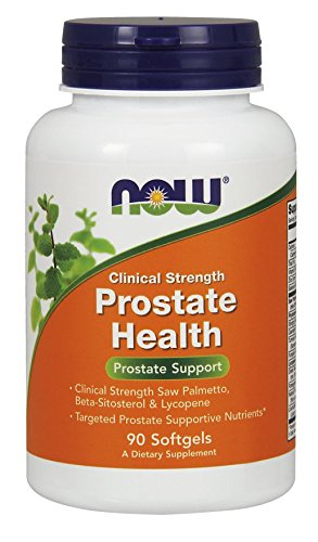 NOW Clinical Strength Prostate Softgels product image