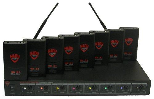 Nady U-81 OCTAVO Omni Lav Wireless System (10/11/12/14/15/16/17/18) Black (Octavo Channel U81 Nady 8)