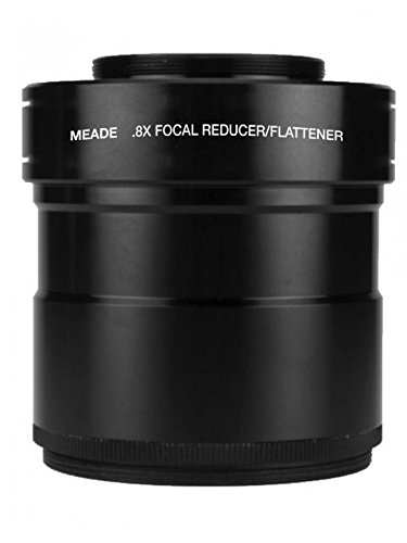 Meade Series 6000 0.8x 3'' Focal Reducer/Field Flattener for 115/130mm APO Refractors by Meade