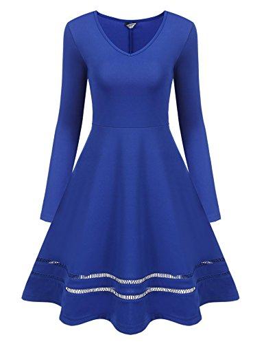 シンポジウム大洪水無力ACEVOG DRESS レディース US サイズ: S カラー: ブルー
