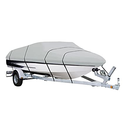Review AmazonBasics Boat Cover for