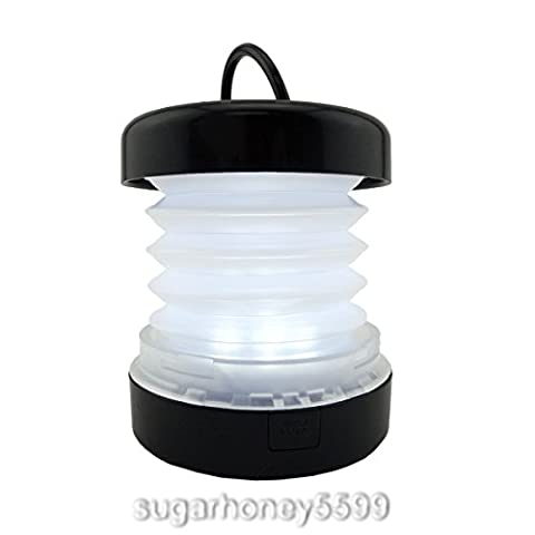 Foldable LED Camping Light Portable Mini Camping Hiking Fishing Lantern Flashlight Torch Light Lamp - Ultra Pro Mini Helmet