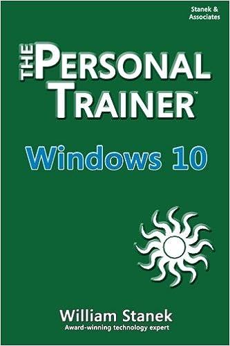 Amazon com: Windows 10: The Personal Trainer (9781515194316