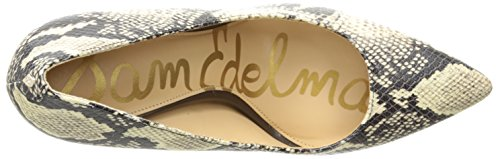 Sam Edelman Womens Dress Nocciola Moderna Serpente Avorio