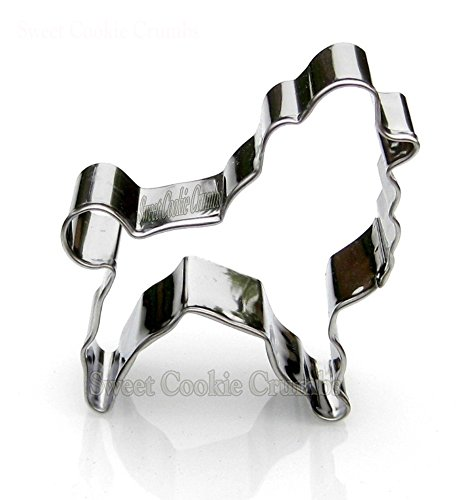 Copper Cutter Cookie Premium - Poodle Dog Cookie Cutter- Stainless Steel