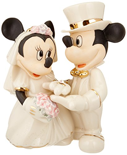 Disney Wedding Cake Toppers (Lenox Disney's Showcase Minnie's Dream)