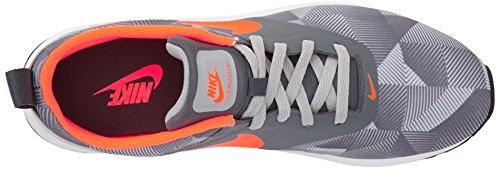 Nike Air Max Tavas Print, Scarpe da Corsa Uomo Grigio (Grau (Dark Grey/Total Orange/Wolf Grey/White))
