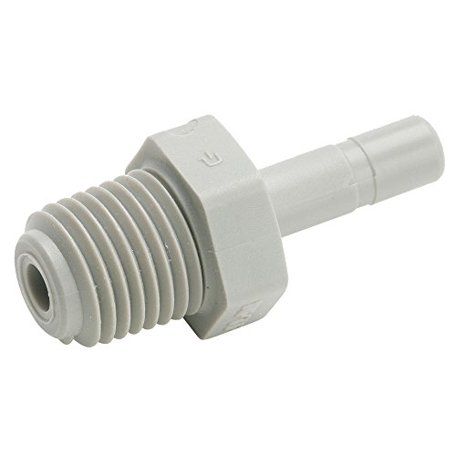 Parker A5TMC2-pk10 Push-to-Connect All Plastic FDA Compliant Fitting, True Seal, Tube Stem to Pipe, Push-to-Connect and Male Pipe Connector, Acetal, 5/16