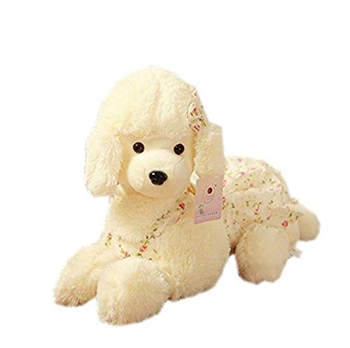(Kangkang@ Poodle Dog Toy Stuffed Dog Plush Toy Kids Birthday Gift)