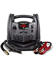 Schumacher SJ1332 1200 Amp Portable Power Jump Starter with AC/12V DC/2 Apmp USB Power plus Compressor with High/Low Inflater/Deflater and Light