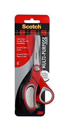Scotch Multi-Purpose Scissor, 6-Inches (1426) ()